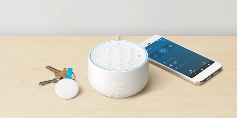 Nest Secure Smart Alarm System - The best home security systems in 2018
