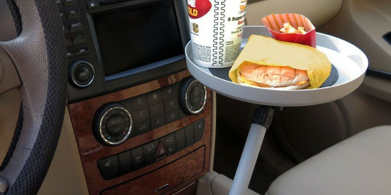 Cup Holder Swivel Tray - 17 Car products you'll need for the best road trip