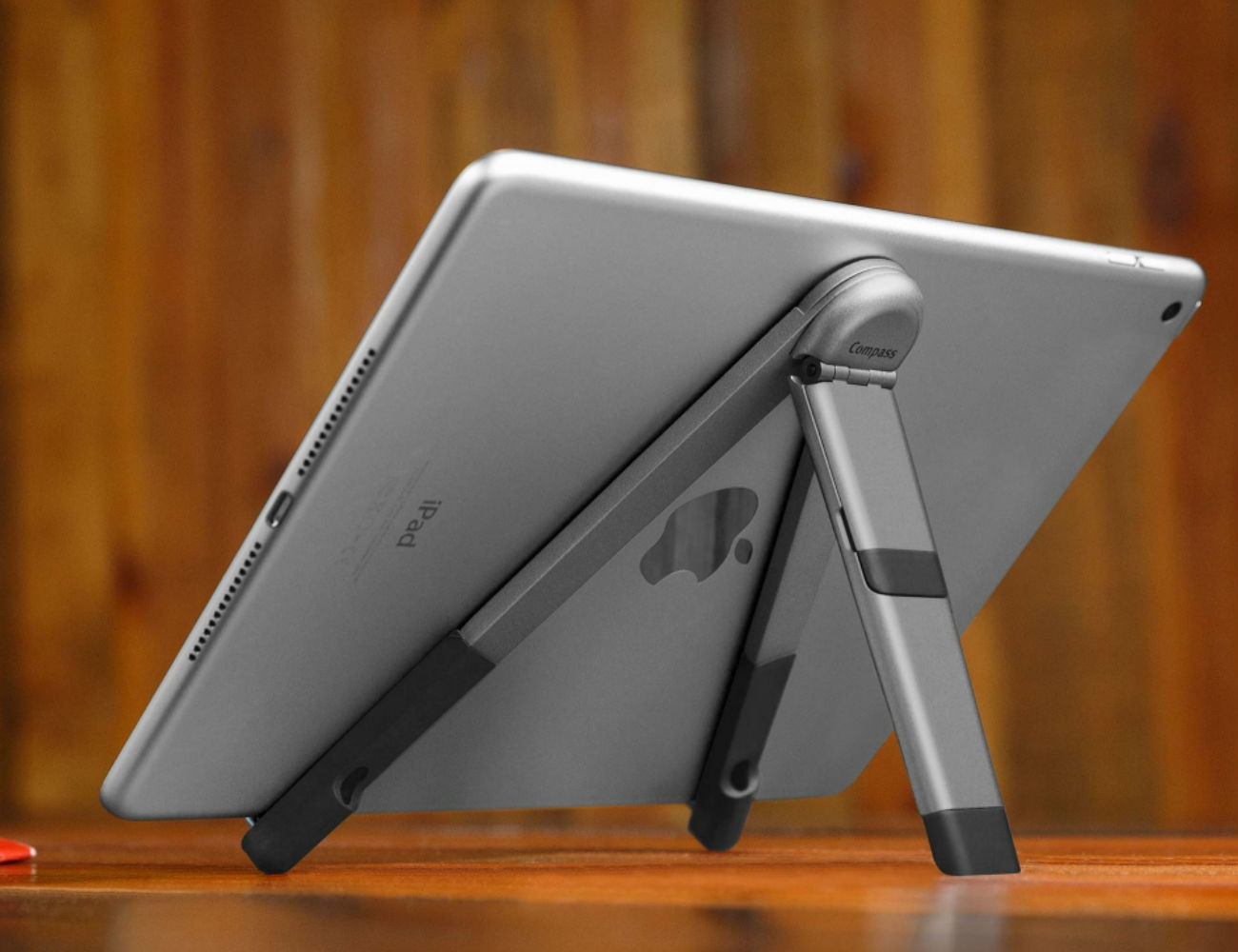 Twelve South Compass Pro Portable iPad Stand provides several viewing angles and orientations