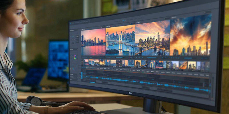 Dell Ultrasharp 49 Curved Dual QHD Monitor - The best monitors and displays for web designers, photographers, and other creatives