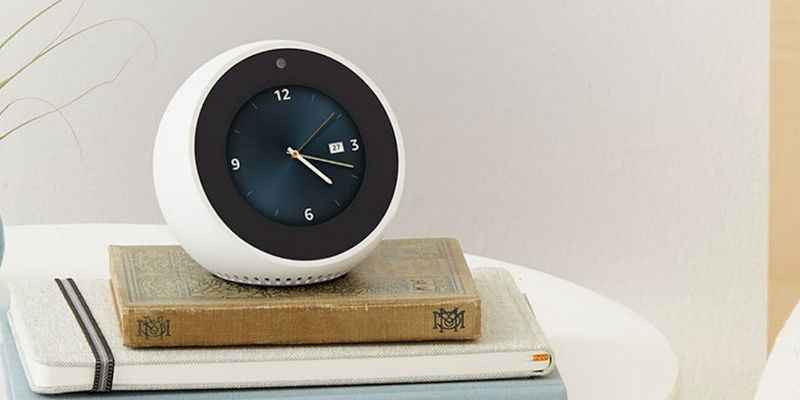 Amazon Echo Spot Alexa Alarm Clock - Best Cyber Monday deals of 2018 curated by the Gadget Flow team