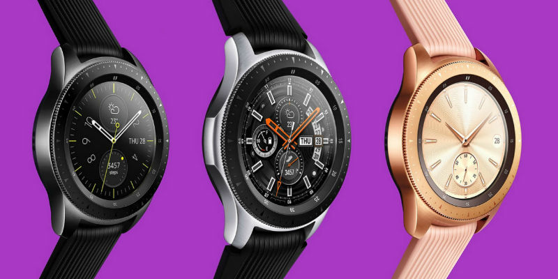 Samsung Galaxy Watch Bixby Smartwatch - Best Cyber Monday deals of 2018 curated by the Gadget Flow team