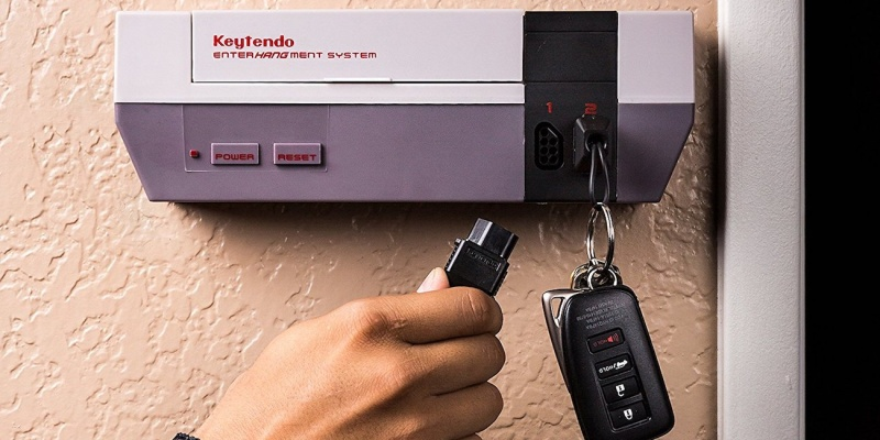 Keytendo Video Game Console Key Holder - Holiday gift guide 2018 — the best gifts for gamers