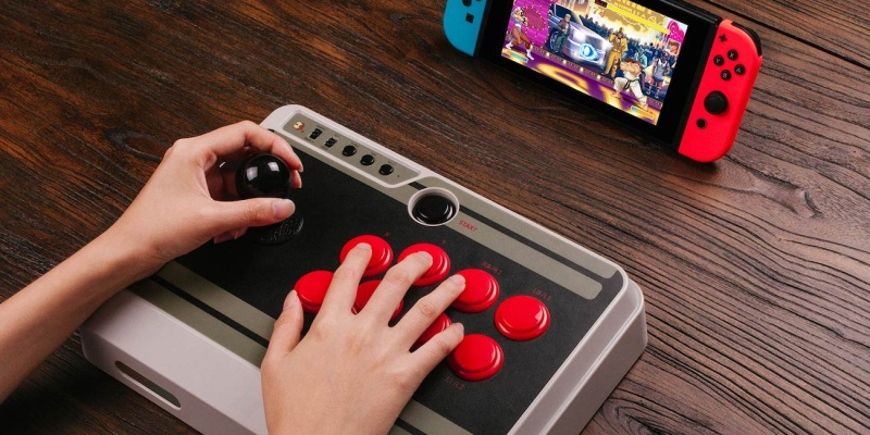 8Bitdo N30 Arcade Stick Controller - Holiday gift guide 2018 — the best gifts for gamers