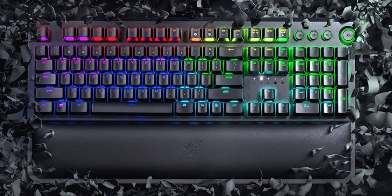 Razer BlackWidow Elite Tournament-Grade Mechanical Keyboard - Holiday gift guide 2018 — the best gifts for gamers