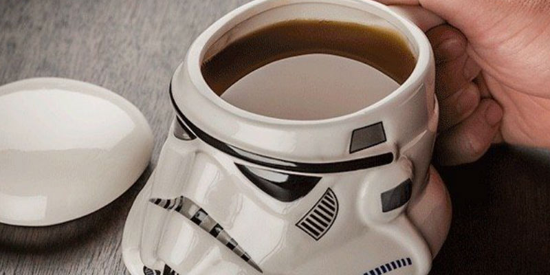 Star Wars Stormtrooper Helmet Mug - 15 Geeky gifts your tech-savvy friends are going to love