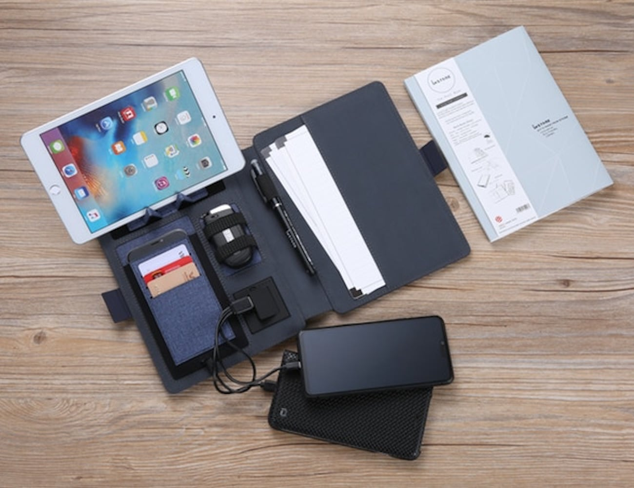 imSTONE Wireless Charging Padfolio