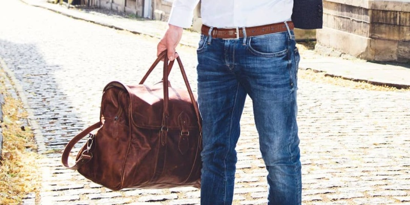 Mahi Leather Drake Large Brown Leather Holdall - 9 beautiful leather goods for every occasion