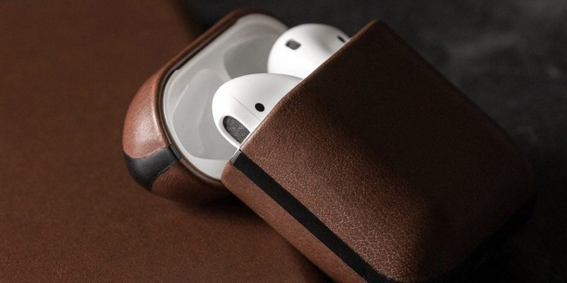 Nomad Rugged AirPods Case - 9 beautiful leather goods for every occasion
