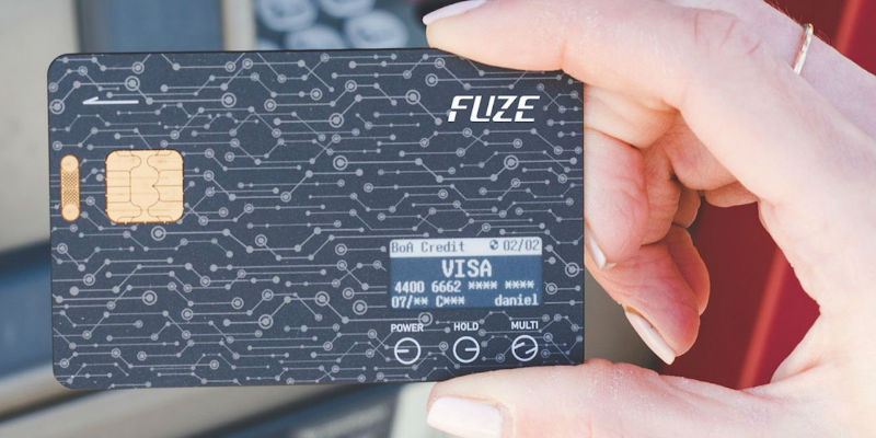 Fuze Card Smart Wallet Card - 5 Smart wallets you can never lose