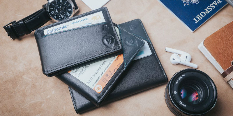 Wallor 2.0 Real-time Global GPS Smart Wallets - 5 Smart wallets you can never lose