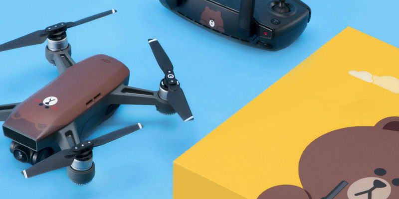 DJI LINE FRIENDS Spark Drone - Holiday gift guide 2018 - 20 Tech gift ideas you need to see
