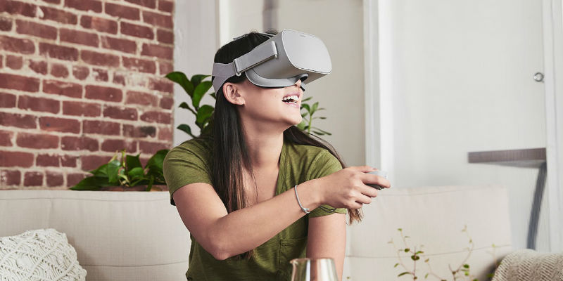 Oculus Go Wireless VR Headset - Holiday gift guide 2018 - 20 Tech gift ideas you need to see