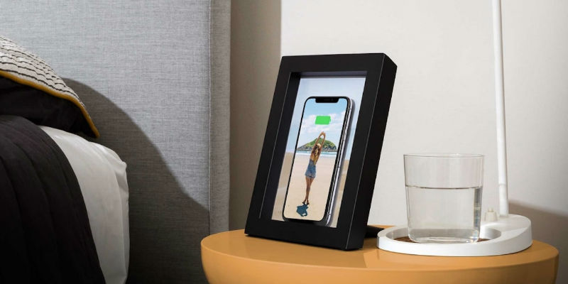 Twelve South PowerPic Wireless Charger Photo Frame - Holiday gift guide 2018 - 20 Tech gift ideas you need to see