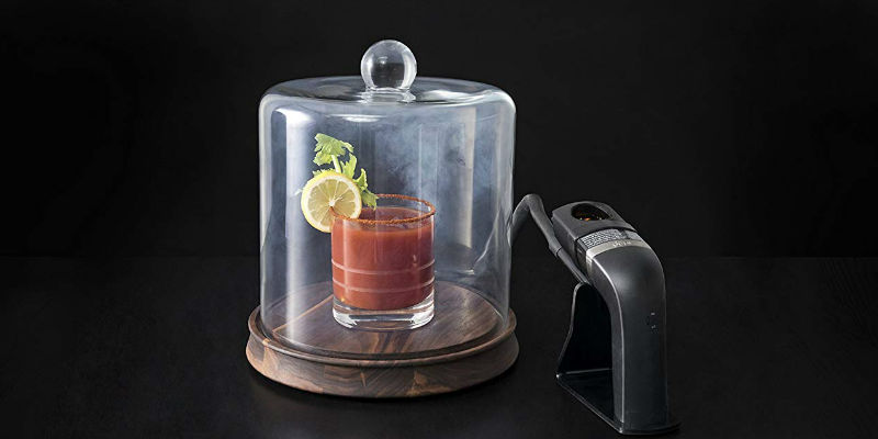 Glass Smoking Cloche - 8 Dining accessories you can still order and get before Thanksgiving day