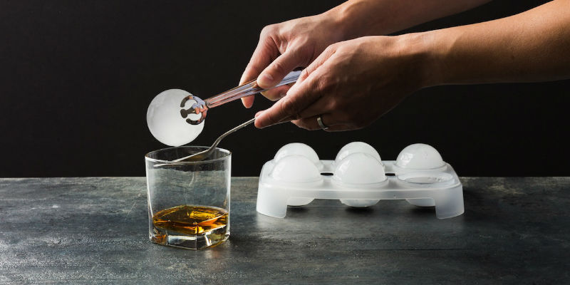 Jumbo Ice Ball Tray - 8 Dining accessories you can still order and get before Thanksgiving day