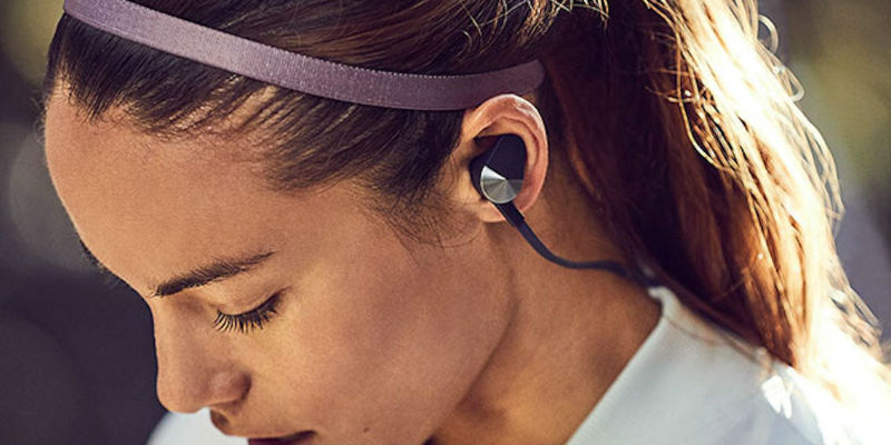 Fitbit Flyer Wireless Fitness Headphones - Holiday gift guide 2018 - Unique gifts curated by the Gadget Flow team