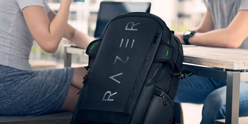 Razer Rogue Gaming Laptop Backpack - Holiday gift guide 2018 - Unique gifts curated by the Gadget Flow team