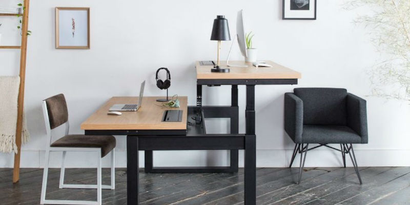 Uhuru Minim Rise Sit/Stand Workstation - 5 Gadgets to make you move and improve your productivity
