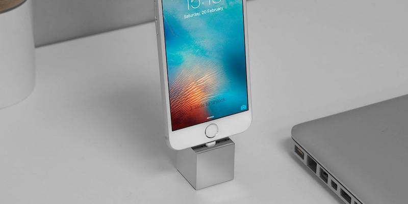 Q Minimalist iPhone Dock - 12 Products to help you live a more minimalist life