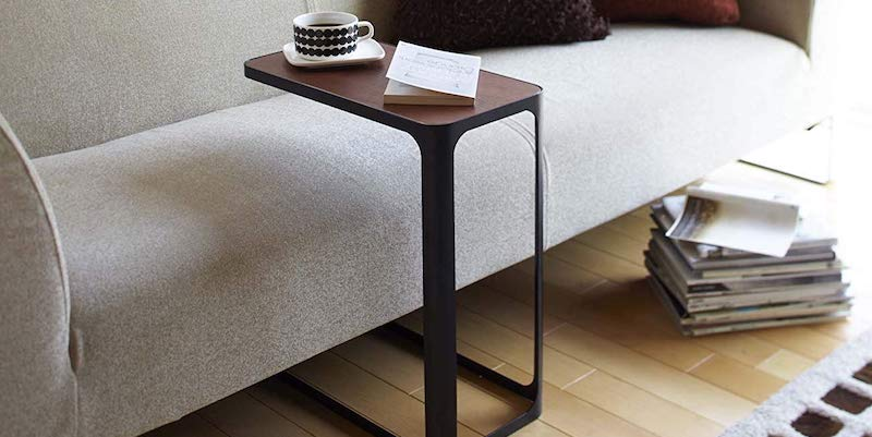 YAMAZAKI Compact Tower Side Table - 12 Products to help you live a more minimalist life