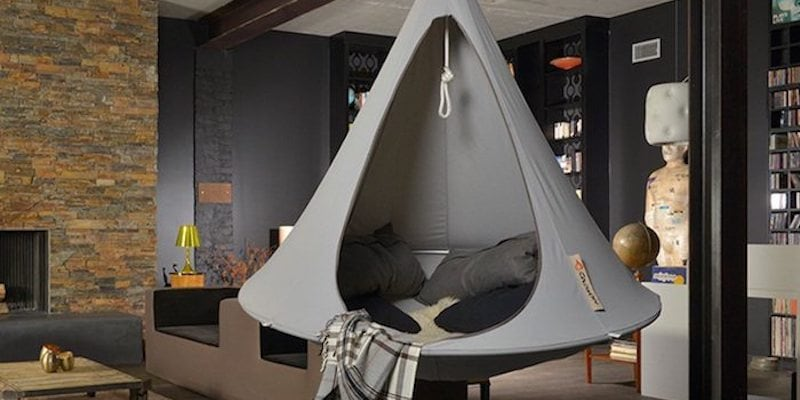 rey Double Hanging Cacoon - 15 Lounge chairs to keep you comfy on a Sunday afternoon