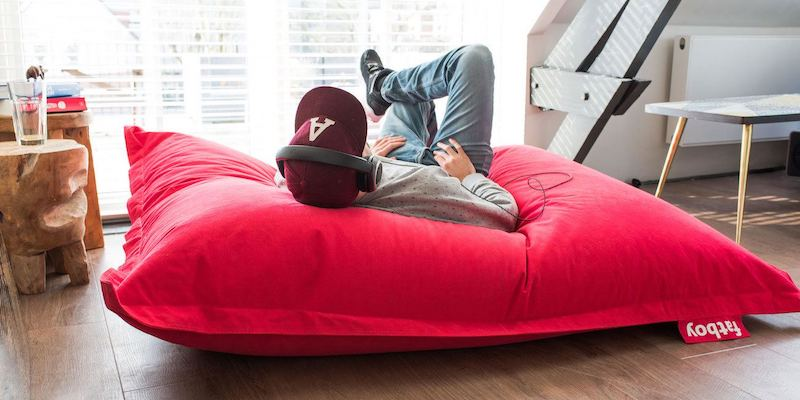 Fatboy Stonewashed Bean Bag - 15 Lounge chairs to keep you comfy on a Sunday afternoon