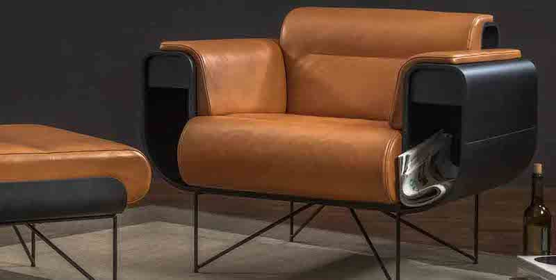 El Purista Smokers' Armchair - 15 Lounge chairs to keep you comfy on a Sunday afternoon