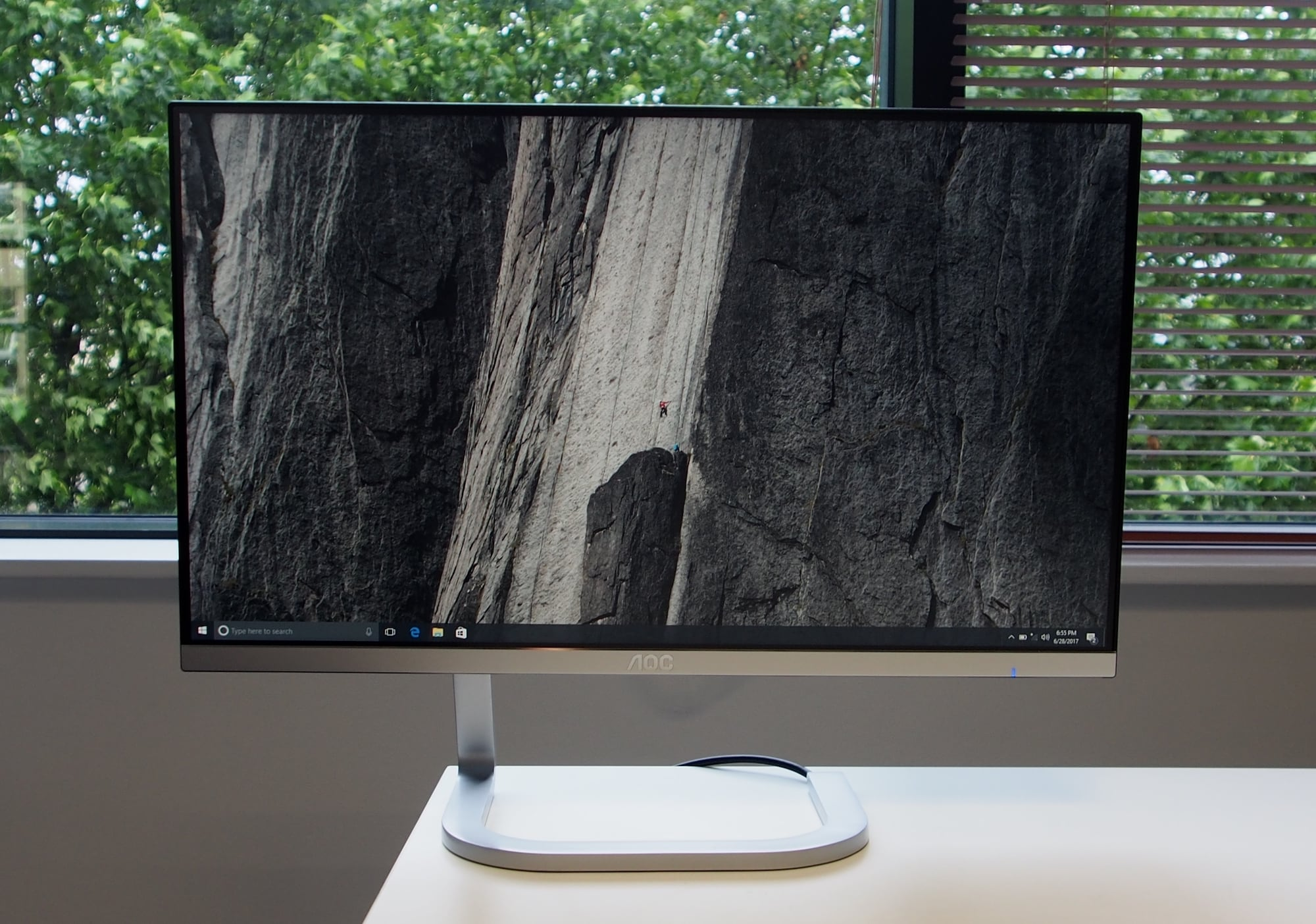 AOC Porsche 24-Inch Ultra Slim LED Monitor