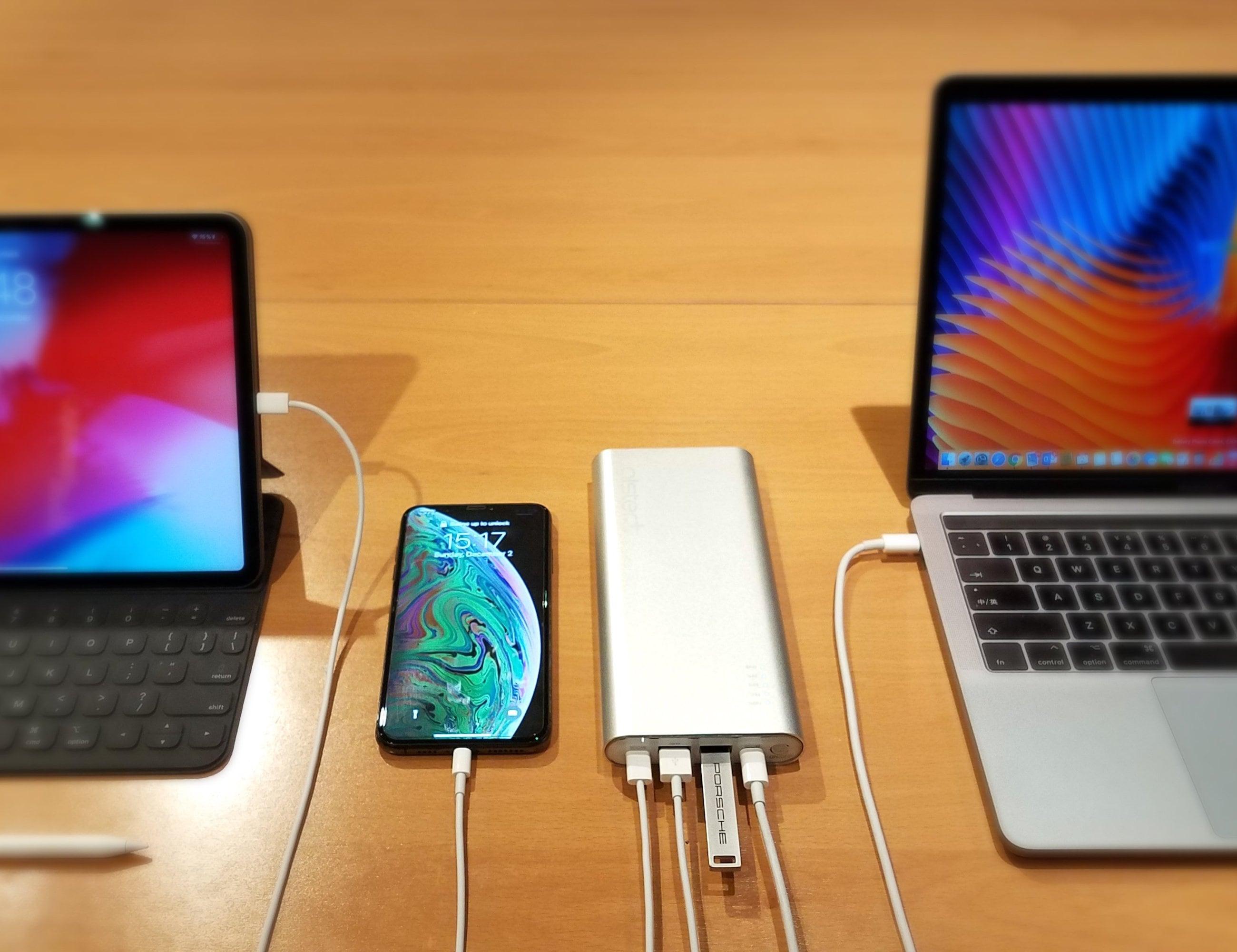AlsterPlus USB-C Battery Pack & Hub