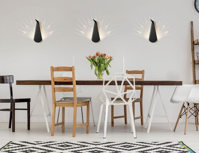 Aluminum Peacock LED Lamp