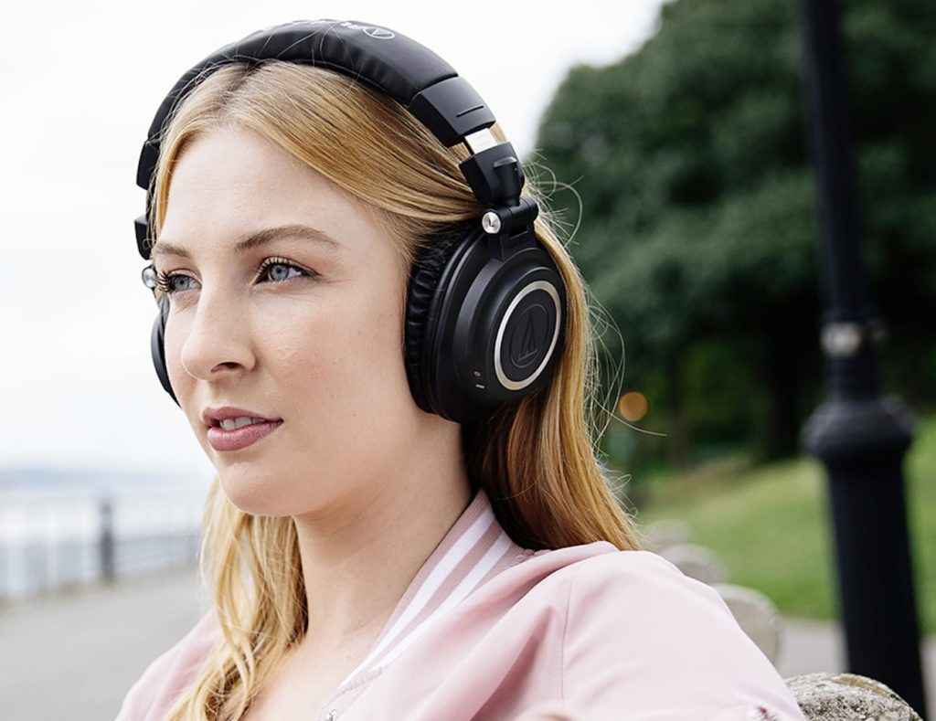 Audio+Technica+ATH-M50xBT+Wireless+Over-Ear+Headphones