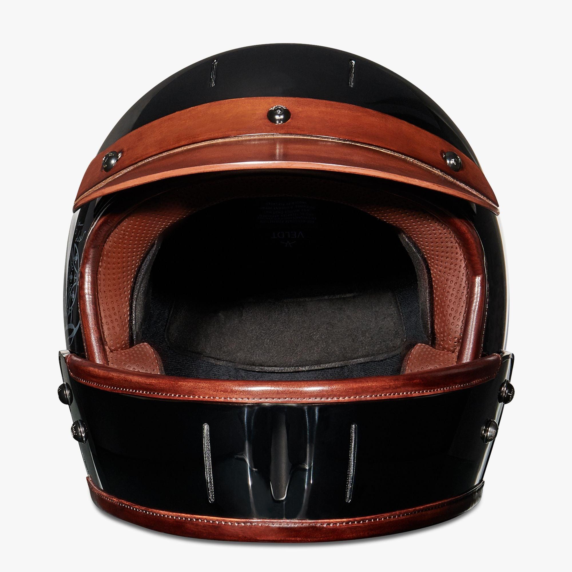 Berluti Luxury Leather Motorcycle Helmet