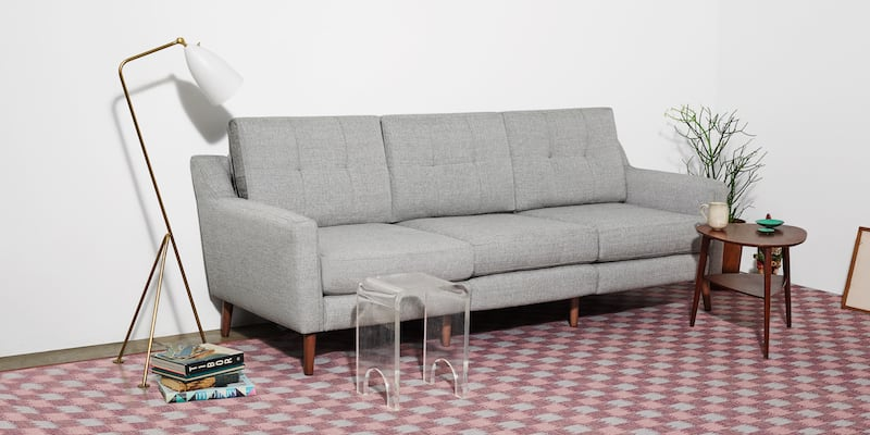 Burrow Stain-Resistant Charging Sofa Holiday gift guide - 16 Products the whole family will enjoy
