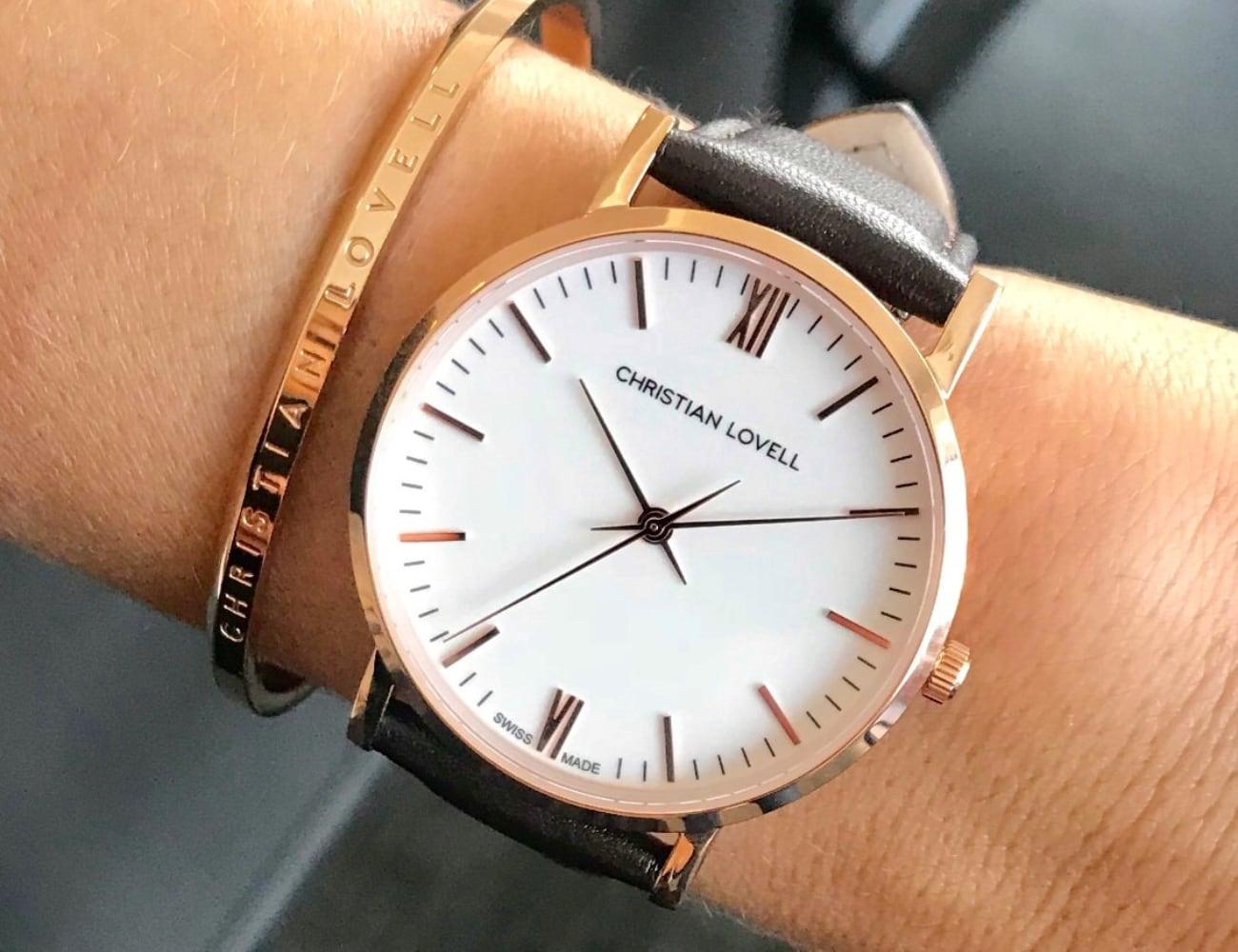 Christian Lovell Modern Swiss Watch