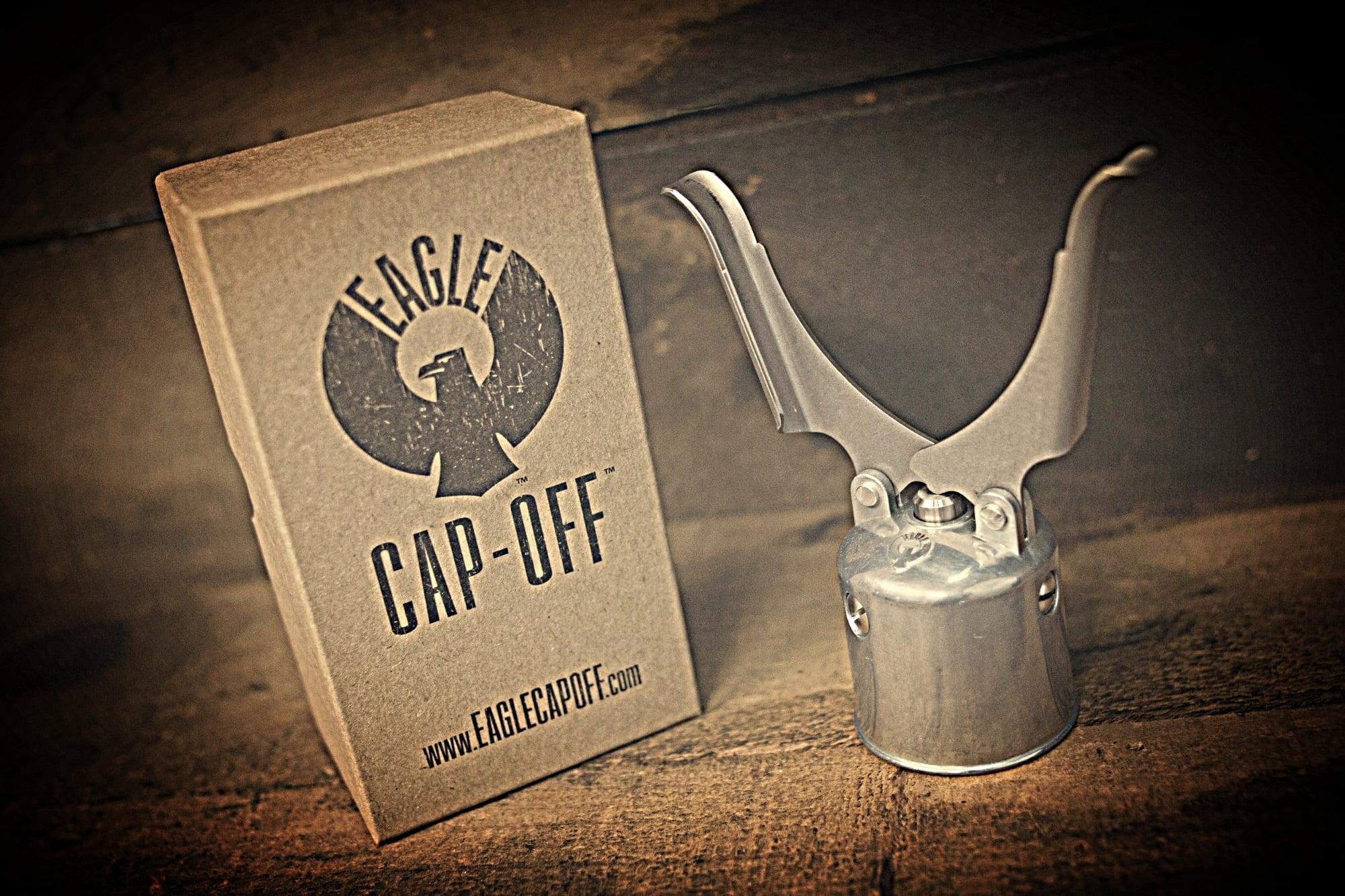 Eagle Cap-Off Handcrafted Bottle Opener