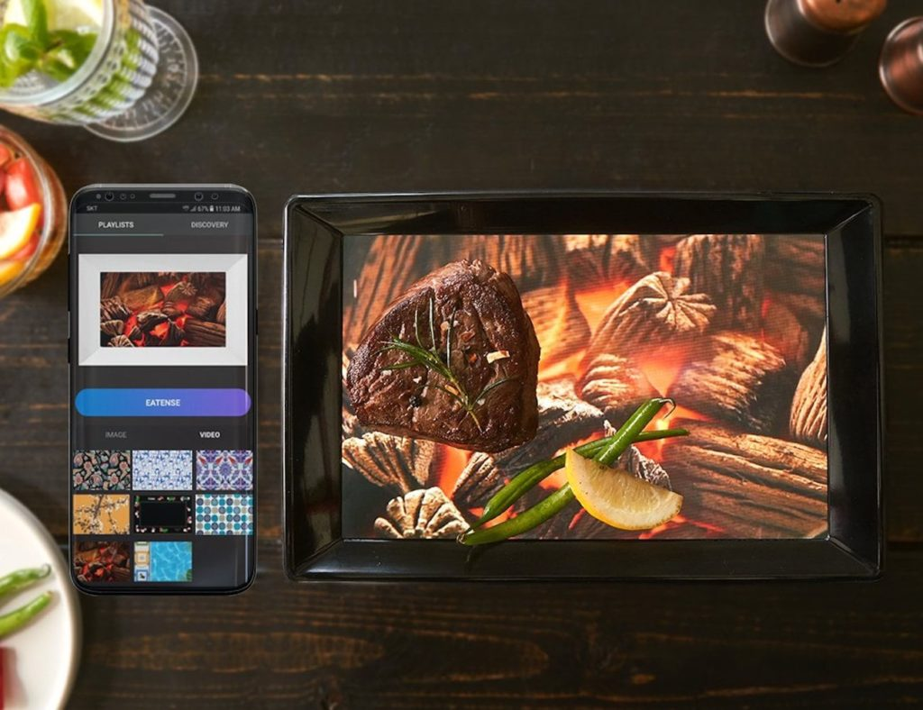 Eatense+Customizable+Smart+Plate