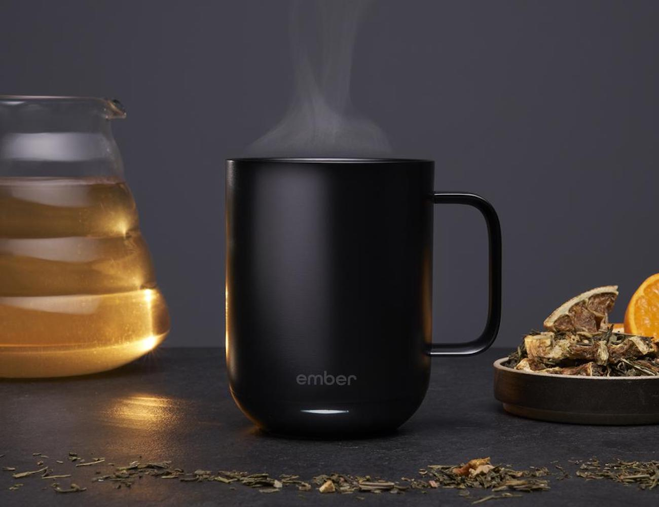 Ember Ceramic Smart Coffee Mug combines beauty and brains
