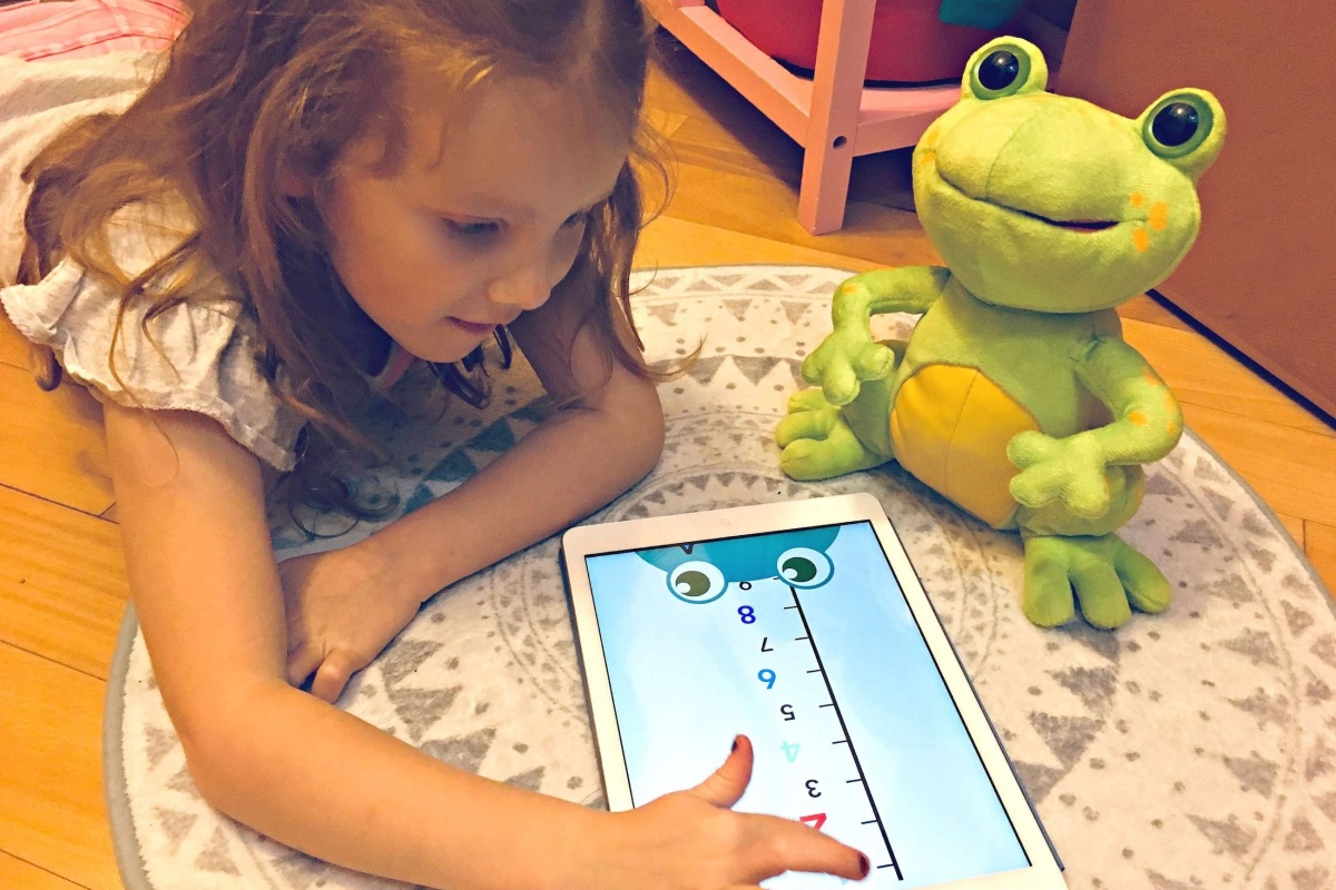 Your kids will love playing with FroggySMART