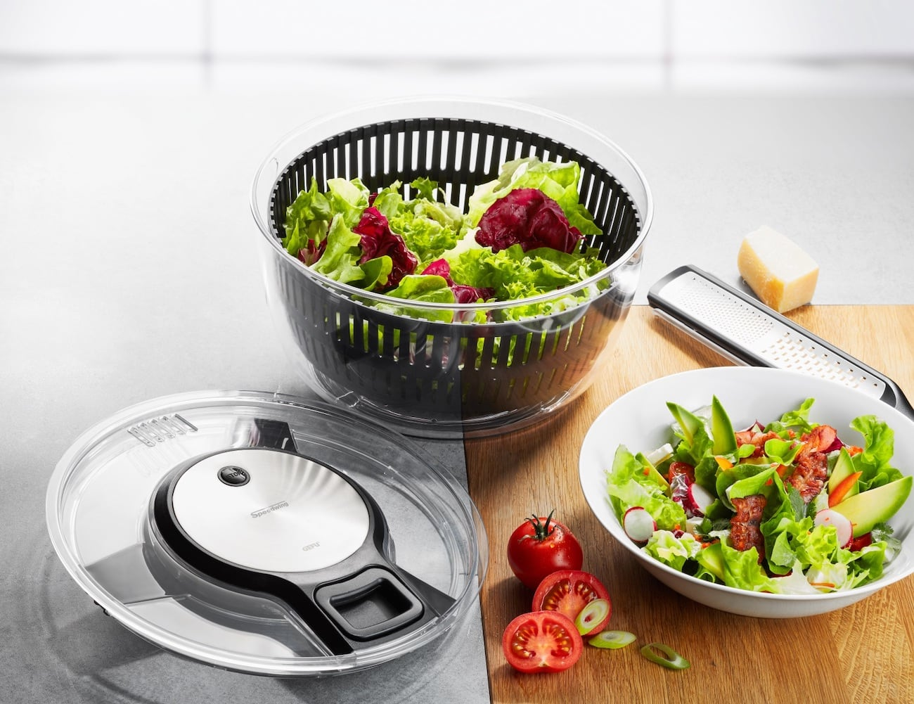 GEFU Speedwing Cable Pull Salad Spinner
