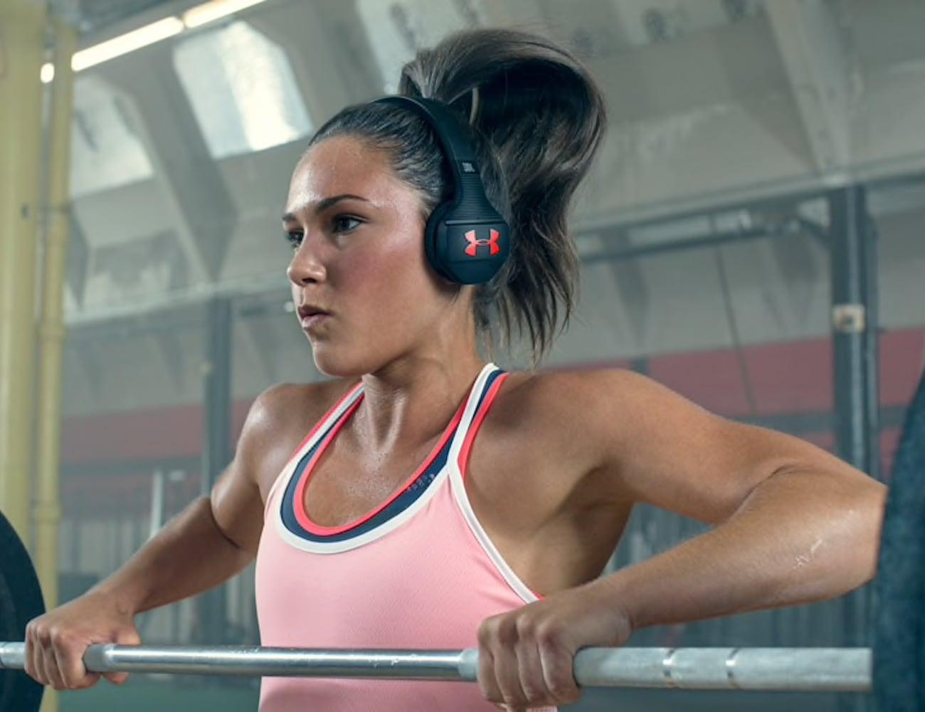 JBL UA Sport Wireless Train Headphones