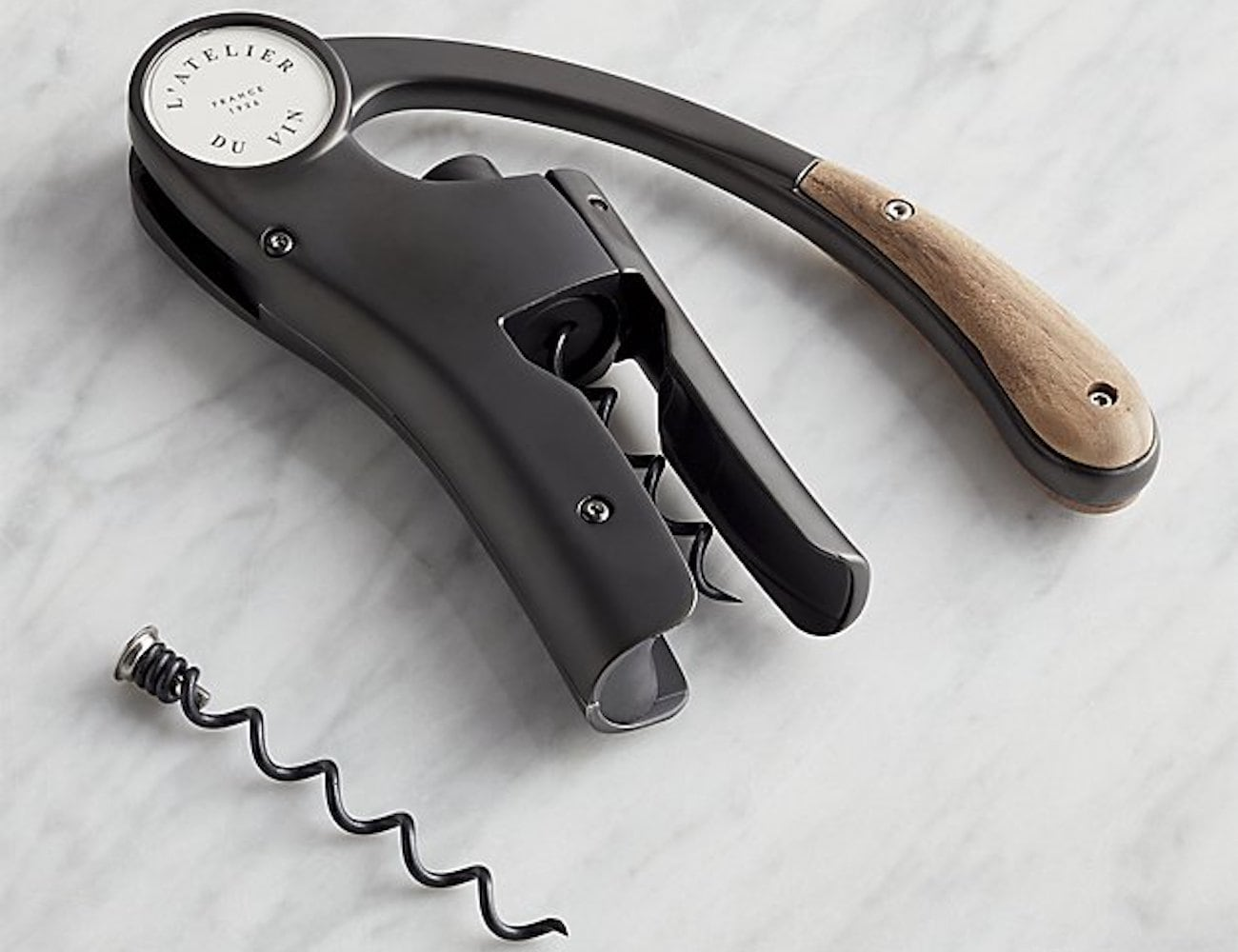 L'Atelier du Vin Oeno Motion Black Corkscrew