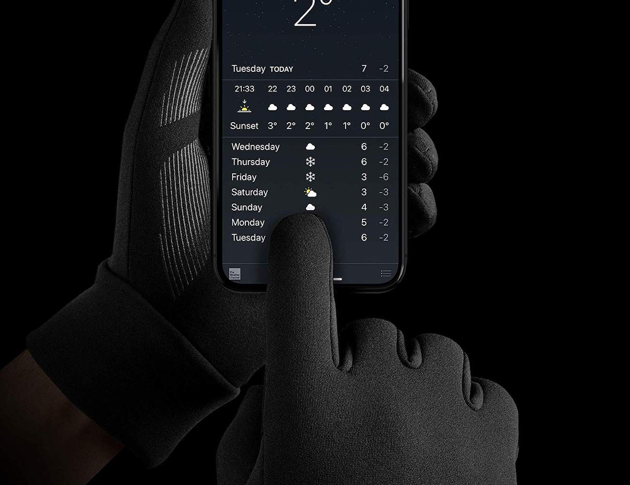 Mujjo 3M Thinsulate Touchscreen Gloves