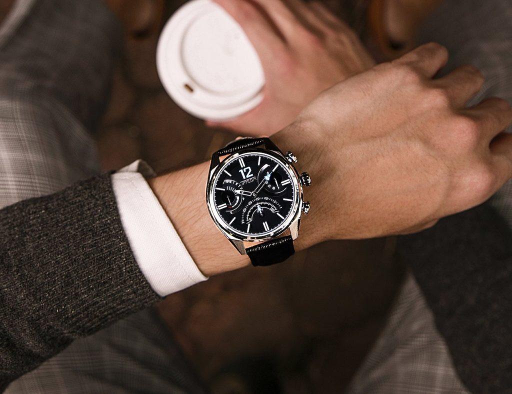 Pyra+M+Mechanical+Smart+Movement+Watch