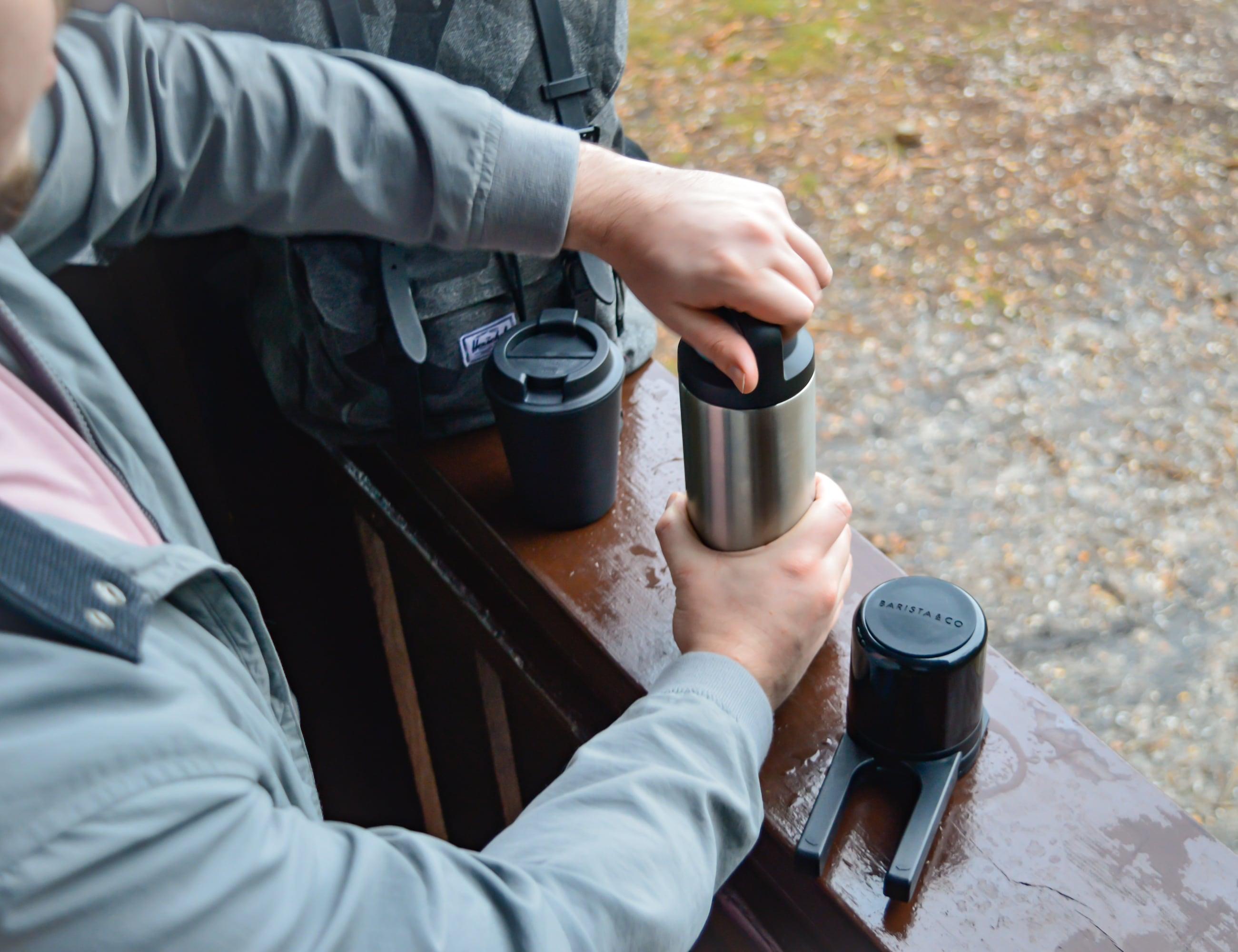 Twist Press Portable Coffee Maker