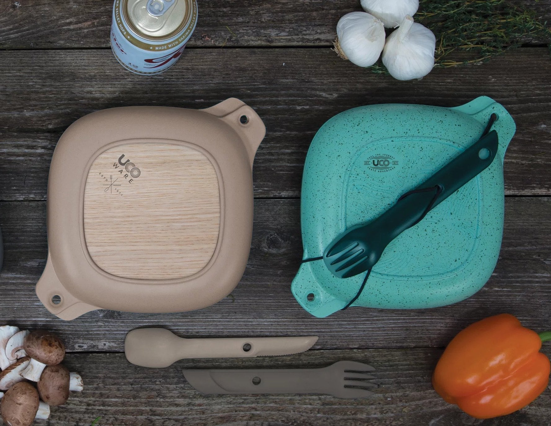 UCO 5-Piece Bamboo Elements Mess Kit
