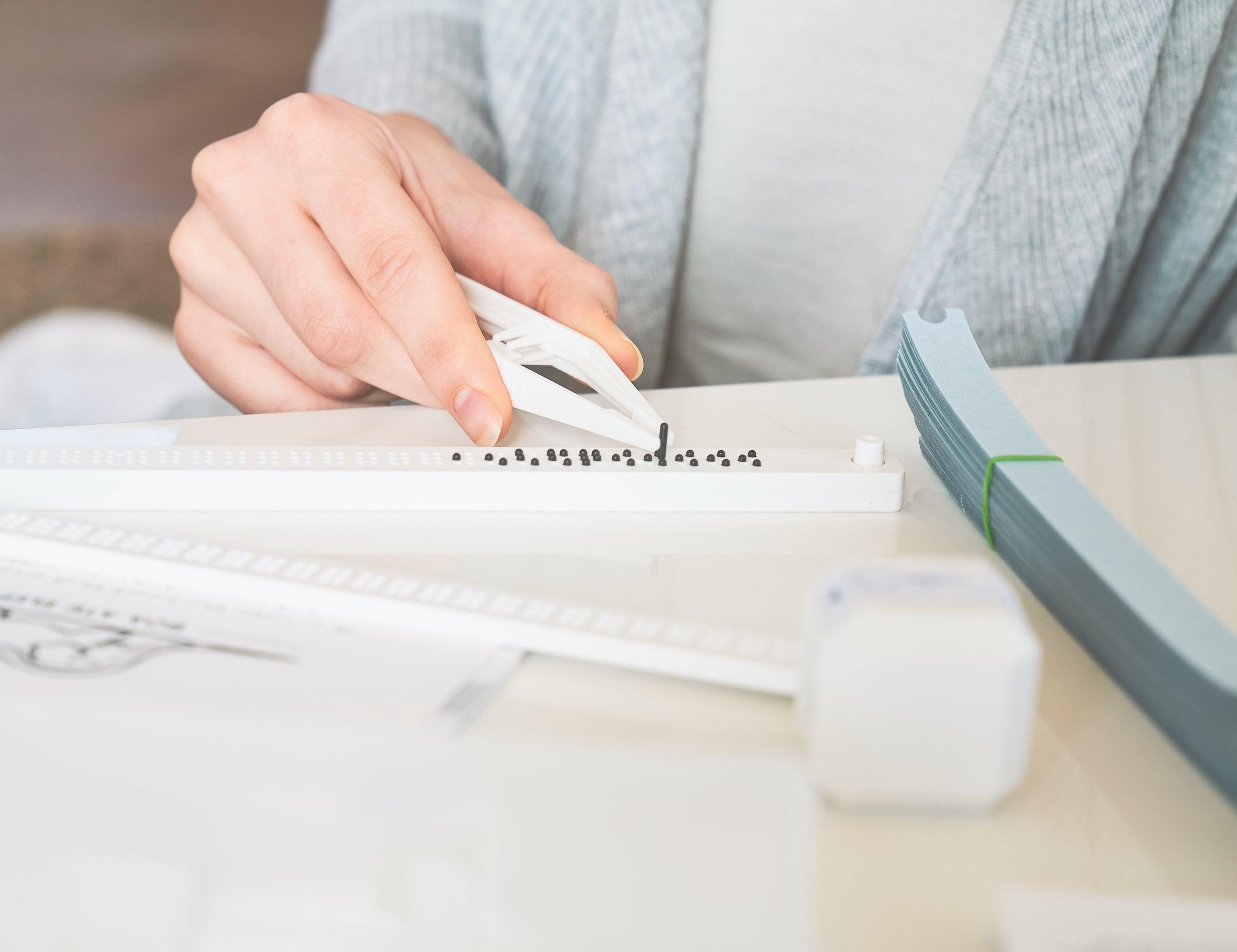 Vrailler DIY Braille Printing Kit