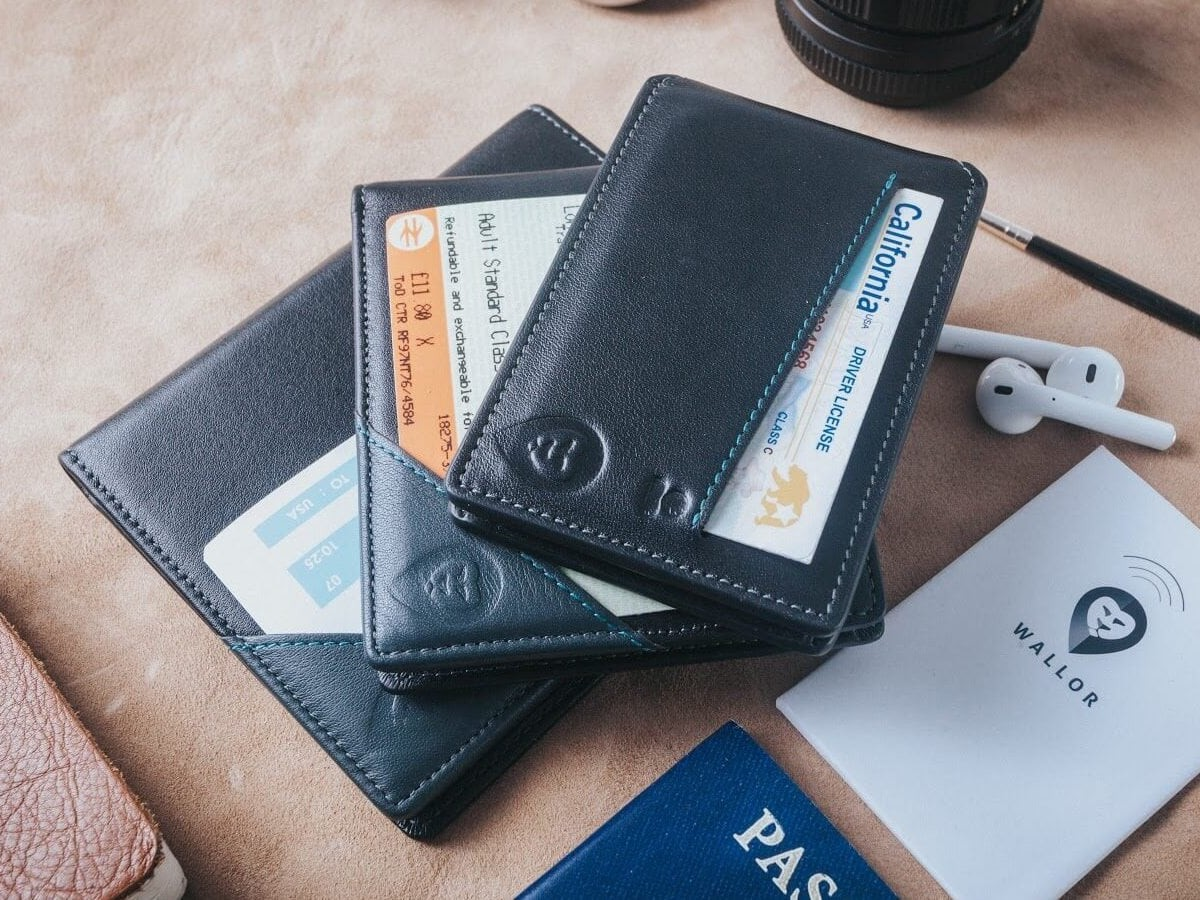 Wallor 2.0 Real-Time Global GPS Smart Wallets come with tracking technology