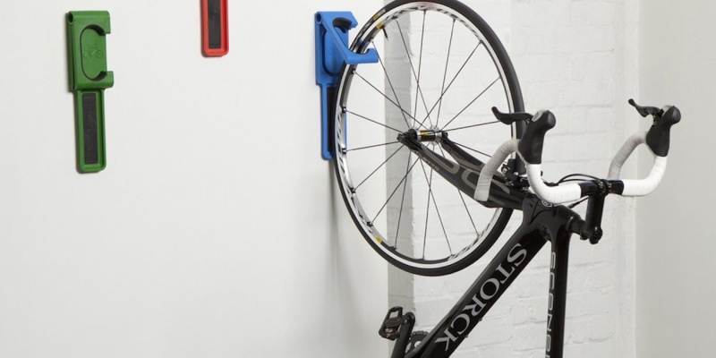 Endo Fold Flat Vertical Bike Storage System by Cycloc - Holiday gift guide – Gift ideas under $100