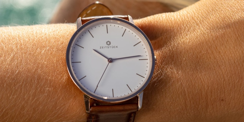 beautiful simplicity - Beautiful simplicity is the tagline of ZEITSTÜCK watches